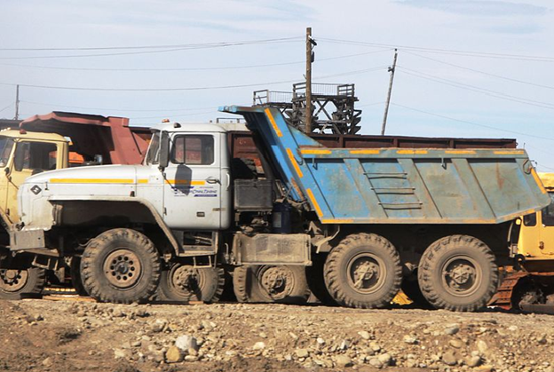 Secondhand Dump Truck
